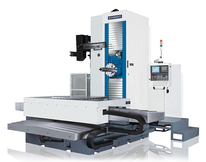 Hbmc 4 Cnc Boring Mills Summit Machine Tools