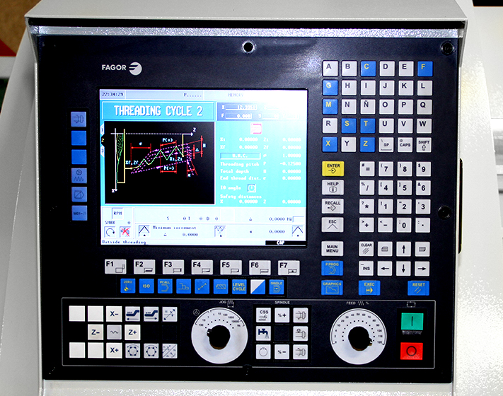 Summit SmartCut CNC Lathe - control