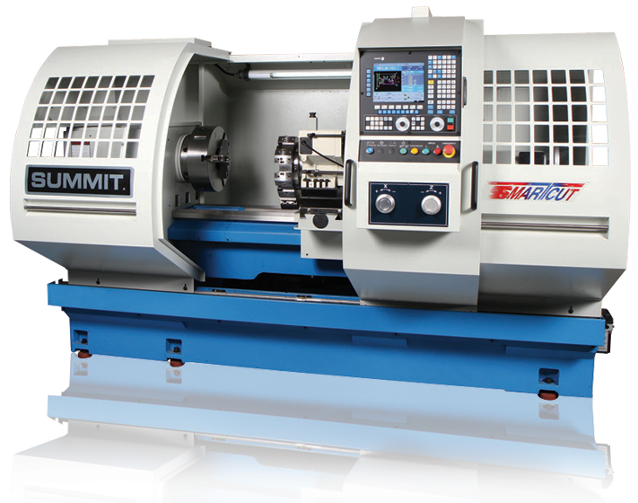 Summit SmartCut Flatbed CNC Metal Lathes