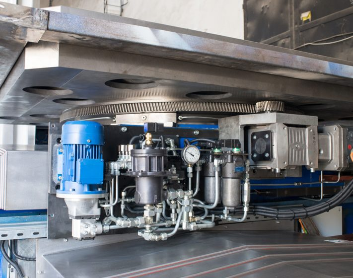 Rotary Table on HTM Series horizontal boring mill