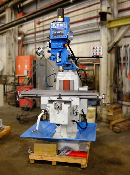 Used vertical mill
